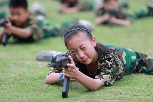 步枪瞄准练习